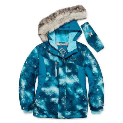 Zeroxposur Snowboard Heavyweight Ski Jacket-Girls 4-16