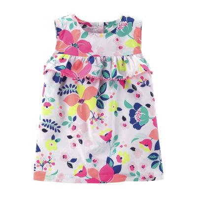 Carter's Floral Sleeveless Top - Preschool Girls