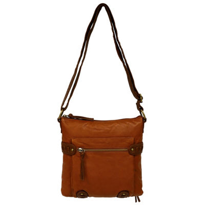 St. John's Bay Whipstitch Crossbody Bag