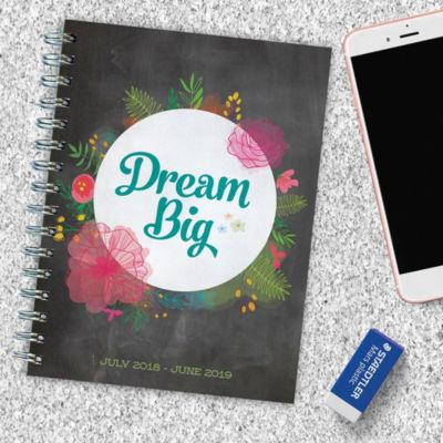 July 2018 - June 2019  Dream Big Medium Weekly Monthly Planner
