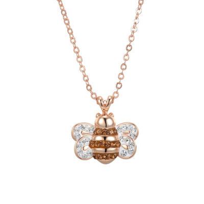 Sparkle Allure 6227 Crystal Kingdom Critter Set Aug 2017 Womens Multi Color Round Pendant Necklace