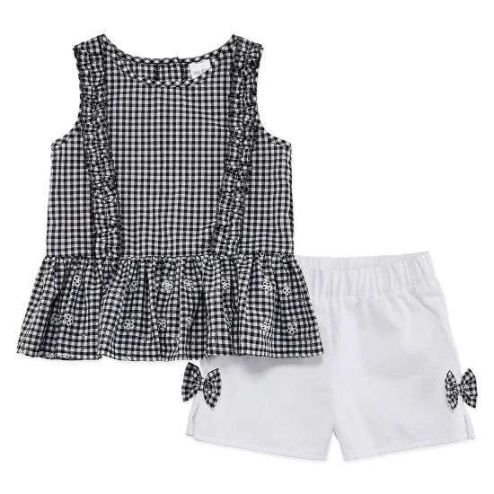 Okie Dokie 2-pc. Short Set Toddler Girls