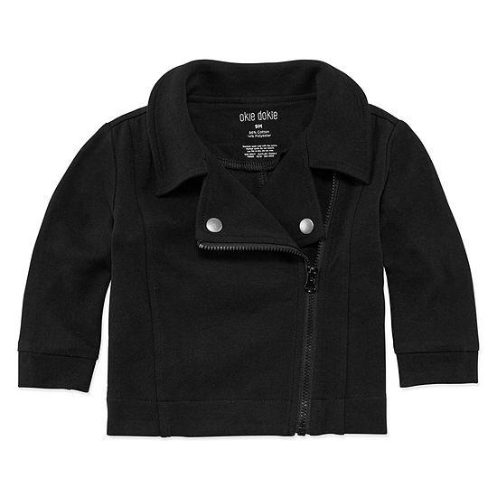 Okie Dokie Girls Midweight Motorcycle Jacket-Baby