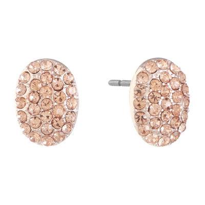 Monet Jewelry Pink 14mm Stud Earrings