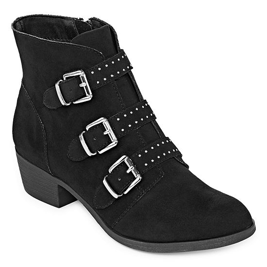 Ana Womens Ann Booties Zip