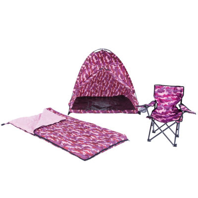 Pacific Play Tents Pink Camo Set