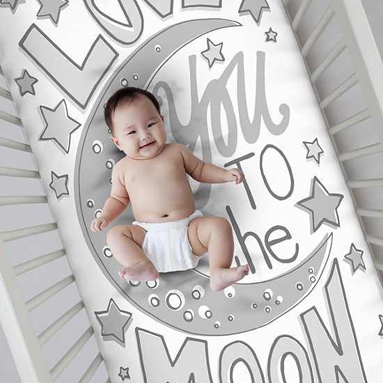 Nojo Photo Op Fitted Crib Sheet