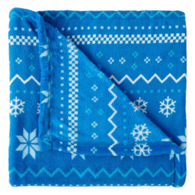 North Pole Trading Co. Family Sleep Throw
