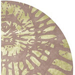 Safavieh Capri Collection Almira Geometric Round Area Rug
