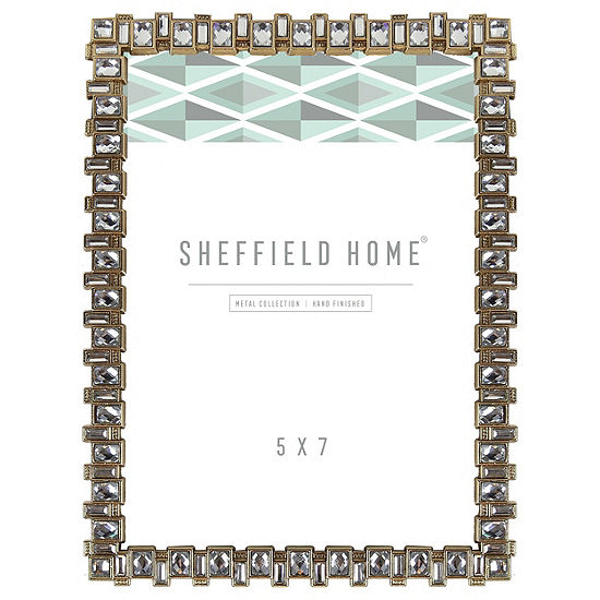 Sheffield Home Jeweled 1-Opening Tabletop Frame