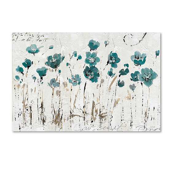Trademark Fine Art Lisa Audit Abstract Balance VIBlue Giclee Canvas Art