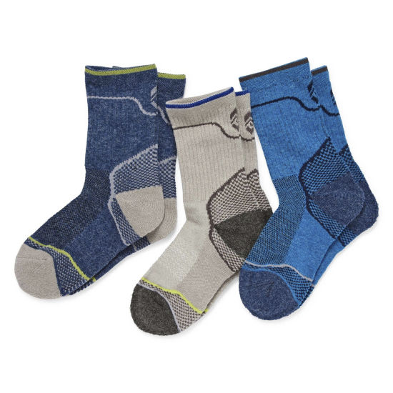 Free Country 3 Pair Crew Socks