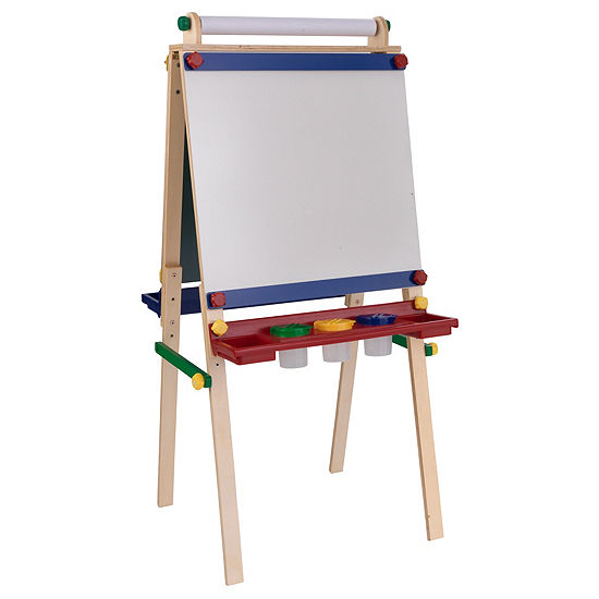 KidKraft Artist Easel with Paper Roll- Primary