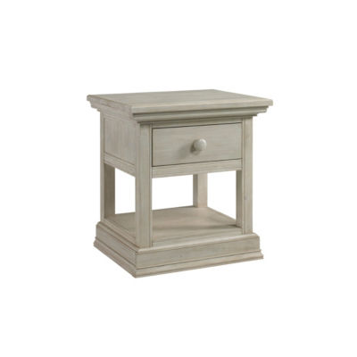 Cosi Bella Luciano Nightstand - White Washed Pine