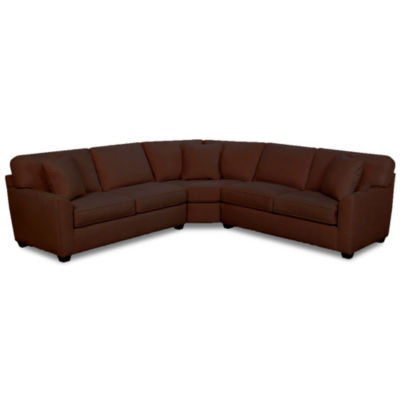 Fabric Possibilities Sharkfin 3-Pc Sectional