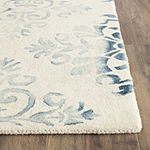 Safavieh Dip Dye Collection Durward Floral Square Area Rug