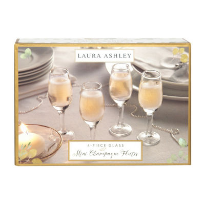 Laura Ashley 4-pc. Shot Glass Set