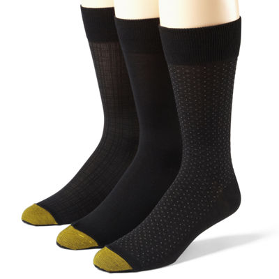 Gold Toe® 3-Pk. Microfiber Socks