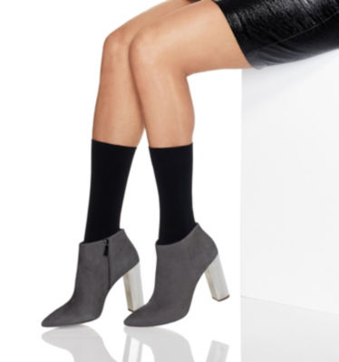 Hanes Perfect Opaque Mid-Calf Socks