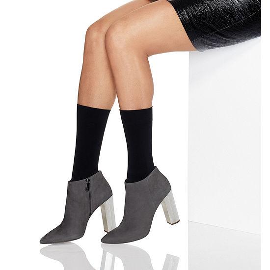 Hanes Perfect Opaque Mid Calf Socks