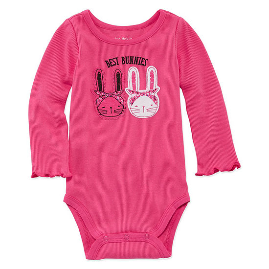 Okie Dokie Bodysuit Girls-Baby