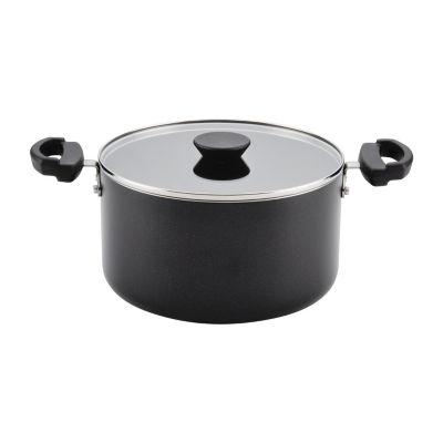 Farberware 6-Qt. Covered  Saucepot Aluminum Dishwasher Safe Non-Stick Stockpot