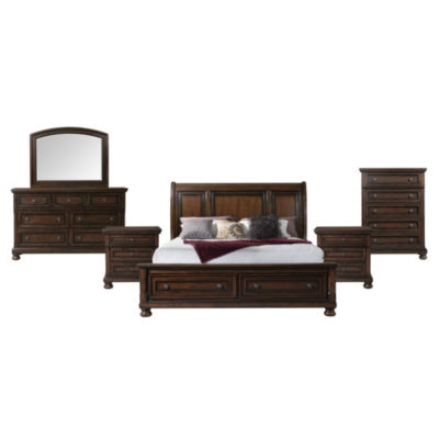Picket House Furnishings Kingsley Storage 6-pc. Bedroom Set