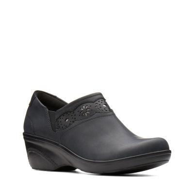 Clarks Womens Marion Helen Slip-On Shoes Slip-on Closed Toe