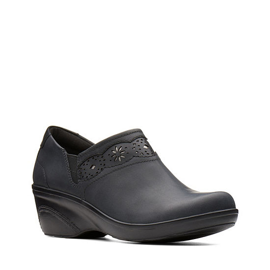 Clarks Womens Marion Helen Slip-On Shoe Closed Toe