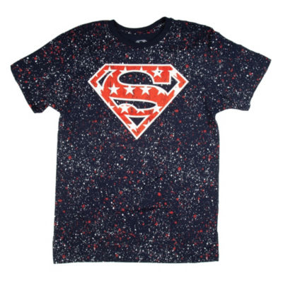Superman American Logo Graphic Tee