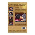 pHusion Satin Hair Bonnet 2-n-1 w/ Sleep Mask