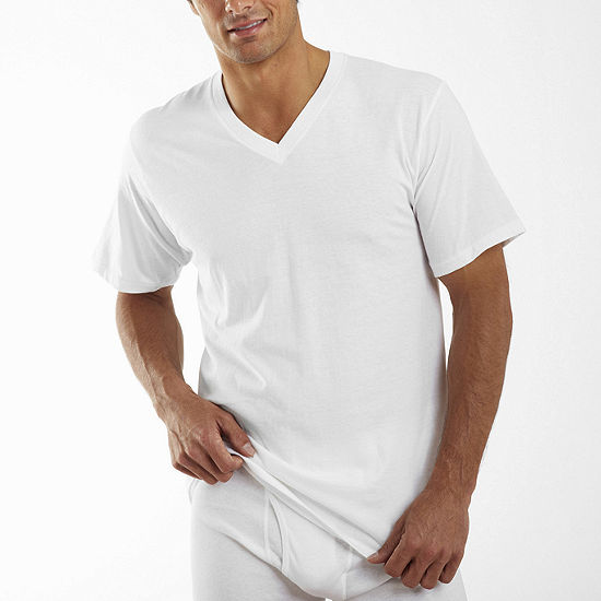 Jockey® 2 Pack Classic V-Neck T-shirt - Big & Tall