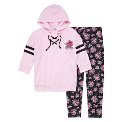 Knit Works Athleisure Legging Set - Girls' 4-16 & Plus