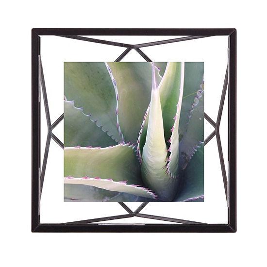 Umbra Prisma Photo Display 4x4 Black 1-Opening Tabletop Frame