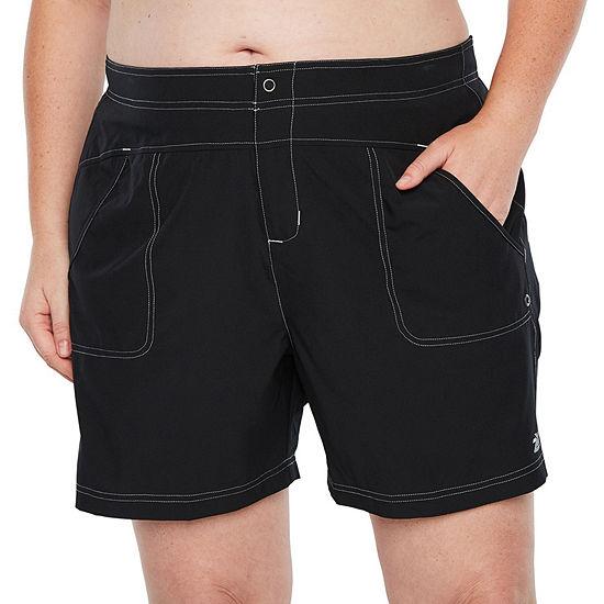 Zeroxposur Swim Shorts Swimsuit Bottom Plus