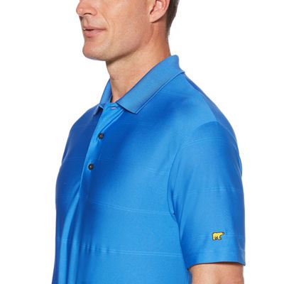 Jack Nicklaus Easy Care Short Sleeve Pattern Ottoman Polo Shirt