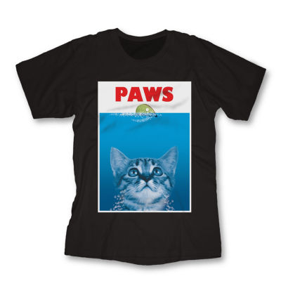 Paws Cat Graphic Tee