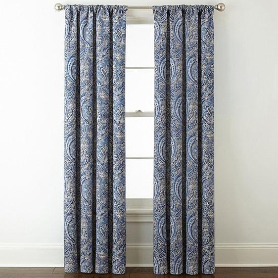 Royal Velvet Florence Room Darkening Rod Pocket Back Tab Curtain Panel Jcpenney