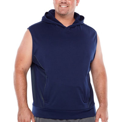 The Foundry Big & Tall Supply Co. Sleeveless Fleece Hoodie-Big and Tall