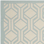 Safavieh Courtyard Collection Jack Geometric Indoor/Outdoor Area Rug