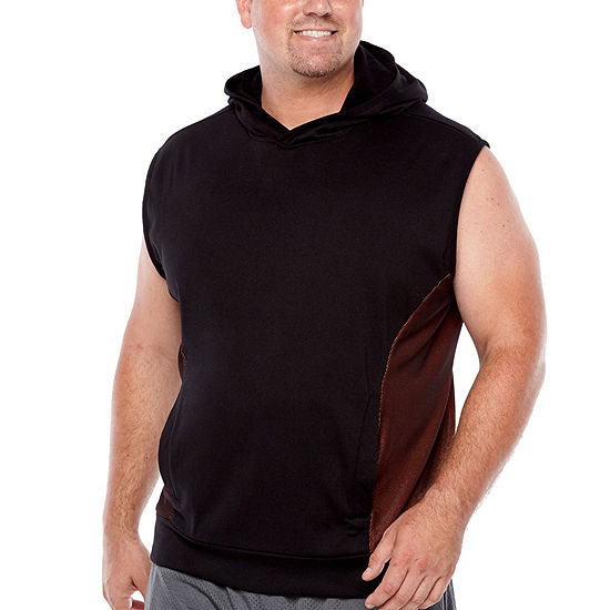 87004f149a7a94 The Foundry Big   Tall Supply Co. Mens Hooded Neck Sleeveless ...