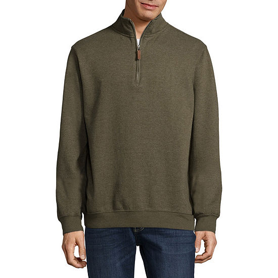 Victory Brushed Fleece Quarter Zip Pullover