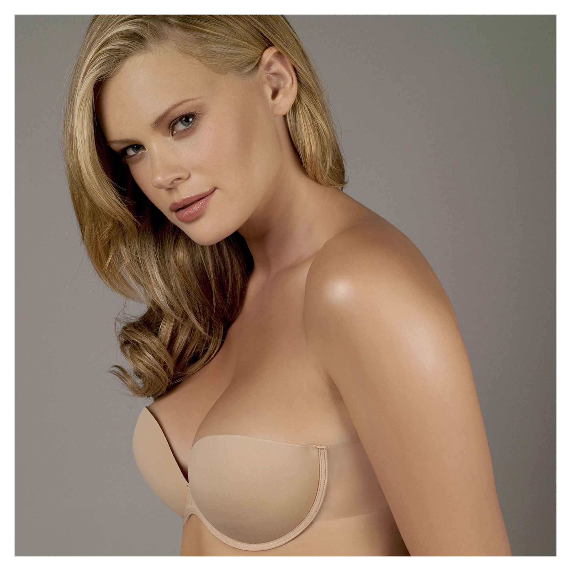 Ambrielle Go Bare Backless Strapless Bra plus size,  plus size fashion plus size appare