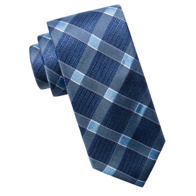 Collection by Michael Strahan  Checked Tie