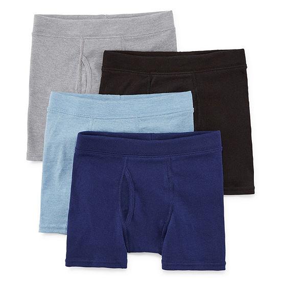 Hanes® Boys' Comfortsoft® Cotton Boxer Briefs 4-Pack