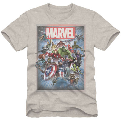 Marvel Group Shot Graphic Tee