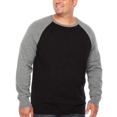 c3e2dc688b The Foundry Big   Tall Supply Co. Crew Neck Long Sleeve Pullover Sweater -  Big