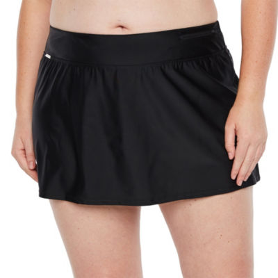 Zeroxposur Swim Skirt Swimsuit Bottom Plus