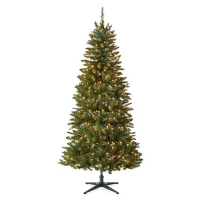 North Pole Trading Co. 7 Foot Victoria Pre-Lit Christmas Tree