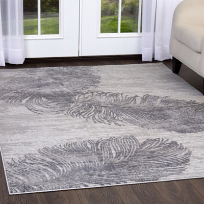 Nicole Miller Kenmare Alice Graphic/Print Rectangular Area Rug